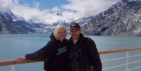 Jeff and Gail in Alaska